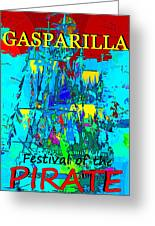 Festival Of The Pirate Greeting Card