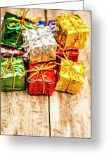 Festive Greeting Gifts Greeting Card