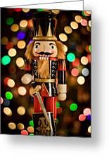Festive Nutcracker Greeting Card