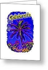 Festive Palm Greeting Card