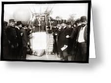Festive Start Of Balloon 1906 Greeting Card