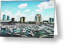 Festive Tampa Bay Greeting Card