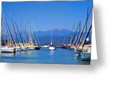 Fethiye Harbour Greeting Card