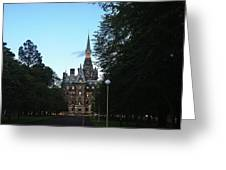 Fettes College West Gate Greeting Card