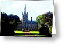 Fettes Front Elevation Greeting Card