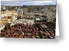 Fez Morocco Greeting Card