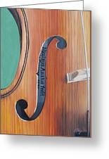 Fiddle I Greeting Card