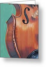 Fiddle IIi Greeting Card