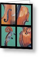 Fiddle Quartet Greeting Card