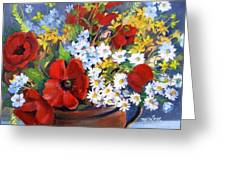 Field Bouquet Greeting Card
