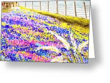 Field Of Blue - Bluebonnet Art Greeting Card