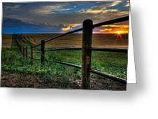 Field Of Dreams II Greeting Card