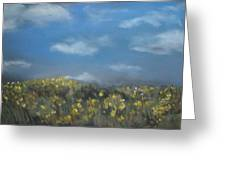Fields Of Gold Greeting Card