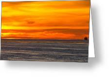 Lava Sky Greeting Card