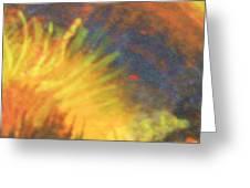 Fiery Tempest Greeting Card by Anne-Elizabeth Whiteway