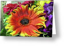 Floral Fiesta Greeting Card