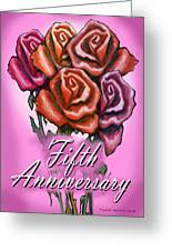 Fifth Anniversary Greeting Card