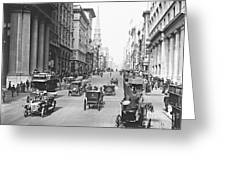 Fifth Avenue And East 34th Street New York City 1907 Greeting Card by Padre Art