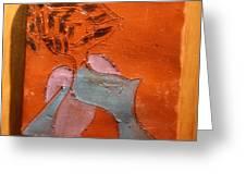 Fifties Gal - Tile Greeting Card