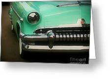 Fifties Ride Greeting Card