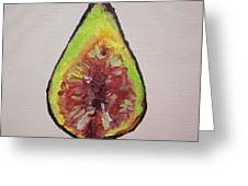 Fig Greeting Card