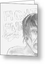 Fight Fair Greeting Card