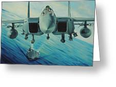 Fighter Jet Greeting Card