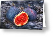 Figs 3 Greeting Card