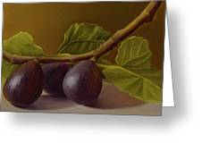 Figs From Walter's Orchard Greeting Card
