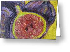 Four Figs  Greeting Card