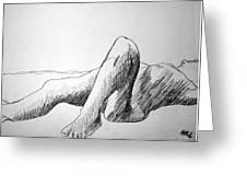 Figure Drawing 4 Greeting Card