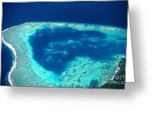 Fiji Aerial Greeting Card