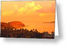 Fiji Mana Island Greeting Card