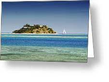 Fiji, Wadigi Isle Greeting Card