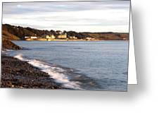 Filey Shore Greeting Card