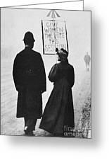 Film Still: Suffragette Greeting Card