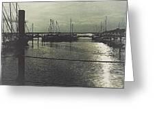 Filtered Marina Greeting Card