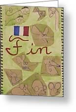 Fin Greeting Card
