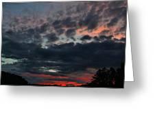 Final Sunset Fling Greeting Card