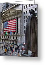Financial District Greeting Card
