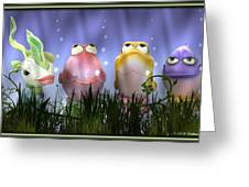 Finding Nemo Figurine Characters Greeting Card
