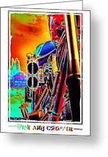 Fine Art Chopper I Greeting Card