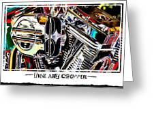 Fine Art Chopper II Greeting Card