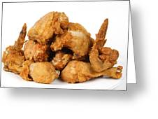 Fine Art Fried Chicken Food Photography Greeting Card