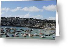 Fine Art - St Ives Harbour Greeting Card
