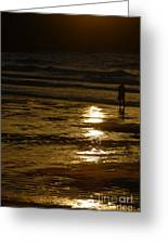 Fine Art- Waves Greeting Card