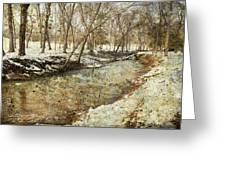 Fine Creek Winter Greeting Card