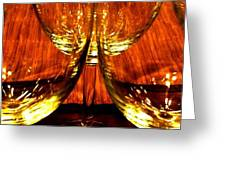 Fine Wine And Dine 1 Greeting Card