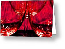 Fine Wine And Dine 6 Greeting Card