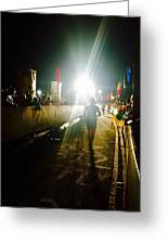 Finish Line Lights Greeting Card